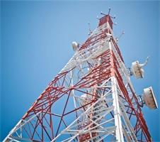 Steel 4-Leg Microwave Antenna 5km Wifi Tower