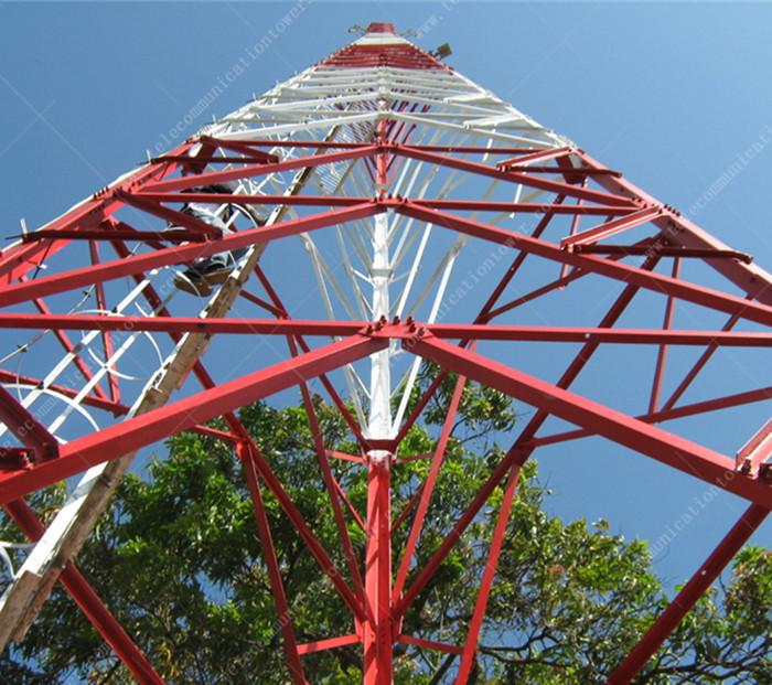 3 Legged Tubular Steel Tower