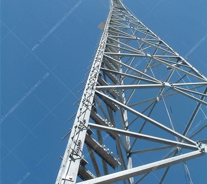 High Quality Galvanized Outdoor Steel Wifi Tower