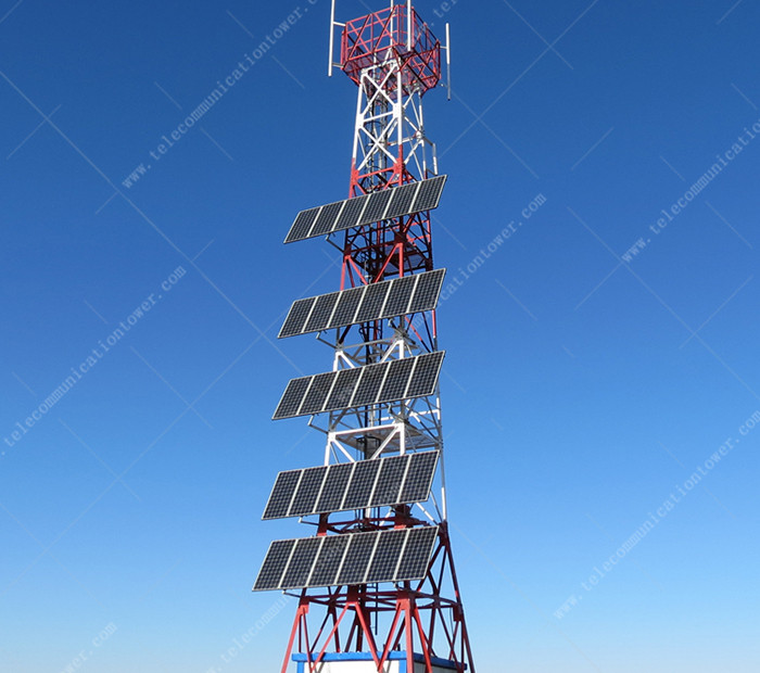 ASTM Angular Steel Communication Self Supporting Tower