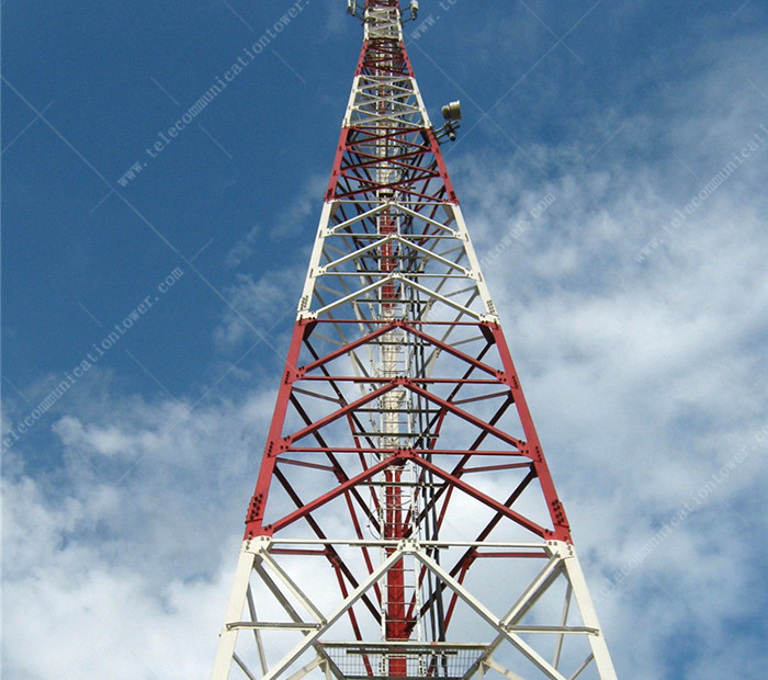 Wifi Radio Antenna Mast Steel Tower