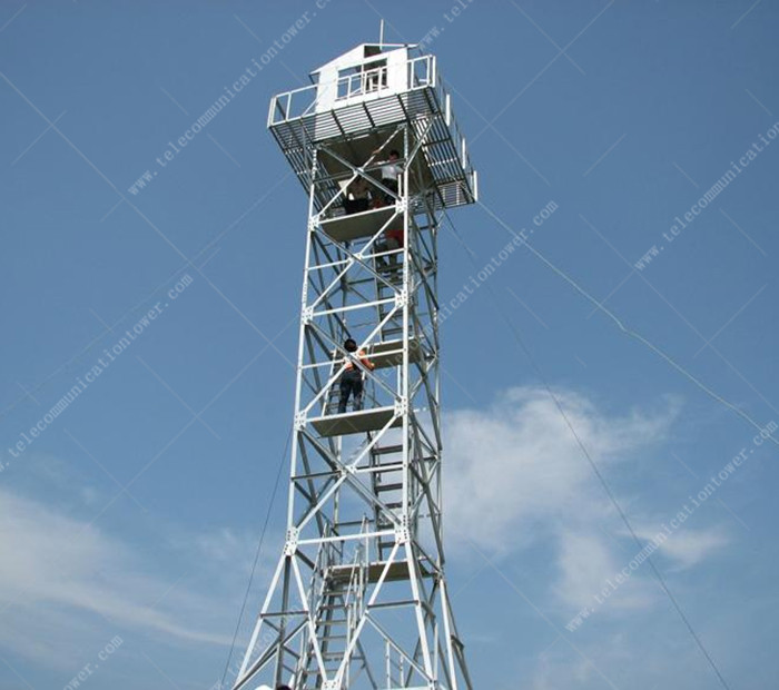 Galvanized Steel 20 Meter Multi Function Observation Tower