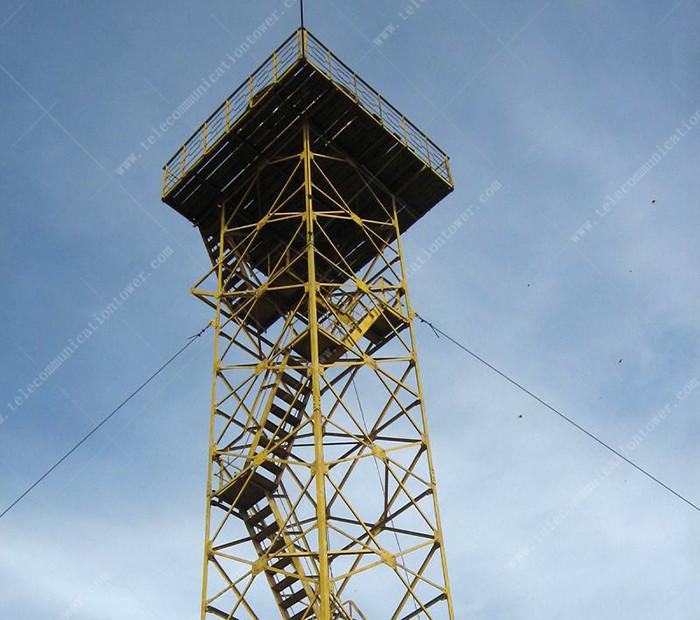 Galvanized Steel 20 Meter Multi Function Observation Tower