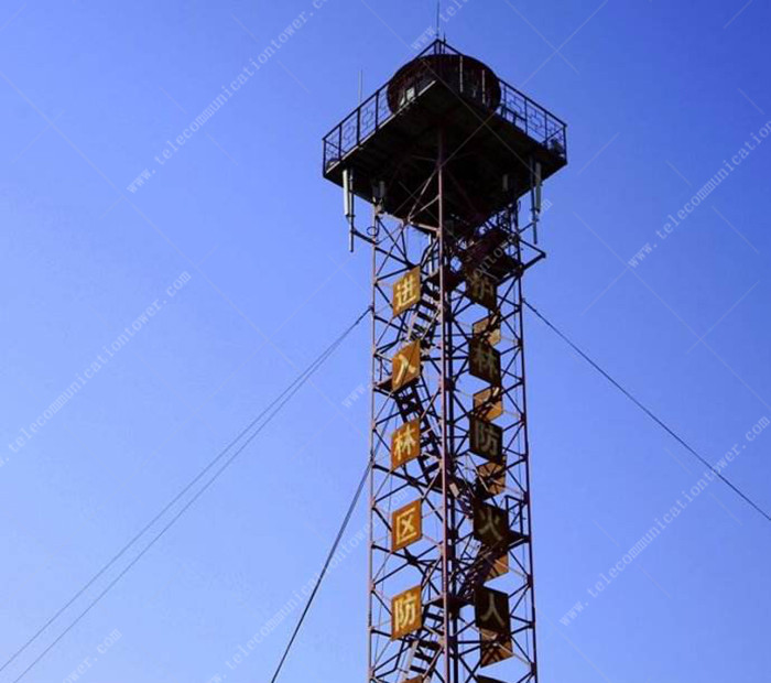 Hot Dip Galvanized Steel Prefabricated 22m Observation Tower