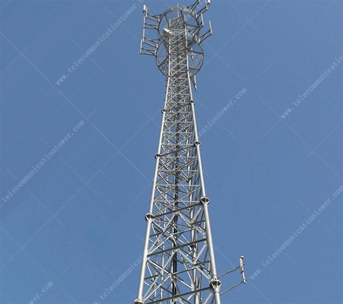 3-Legged Hot-Dip Galvanized GSM Communication Steel Tower