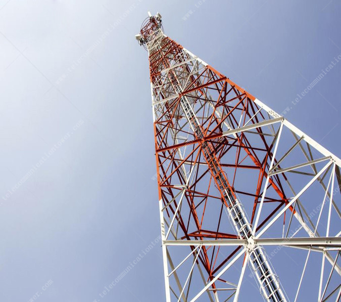 Microwave Radio Bts Antenna Tower