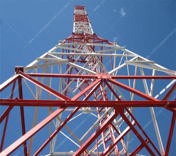4 Legged Angular Steel Tower