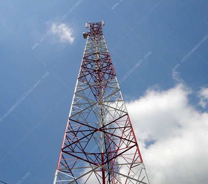 Mast Antenna Shelter Telecom Wifi Tower